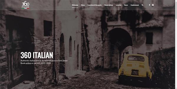 360 Italian Sans Souci